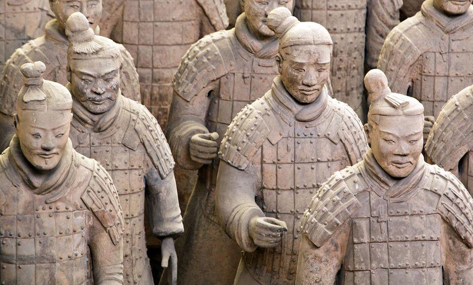 Xi'an : découvrez l'armée de terre cuite
