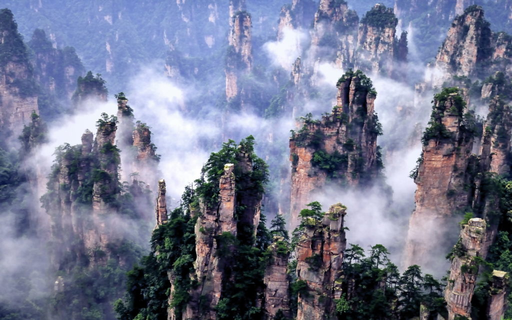 Zhangjiajie : Pandore sur Terre